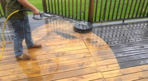 Couple of Advantages of Getting a Professional Deck Cleaner