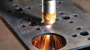 How do the metal cutting services work?